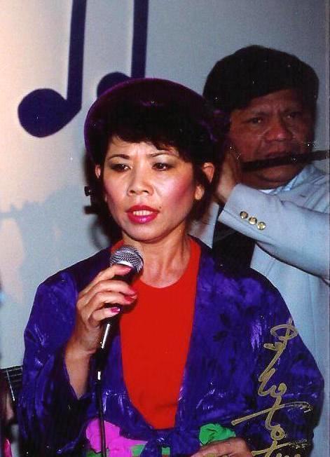 Nghệ sĩ Linh Phượng, nhạc sĩ Thanh Hà.