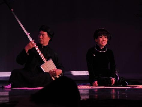 Nghệ sĩ Nga Mi và Trần Lãng Minh