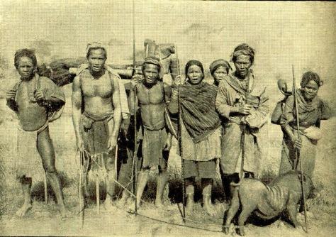 Dân tộc K'Ho thời Pháp thuộc.