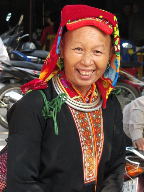 Phụ nữ dân tộc Dao.