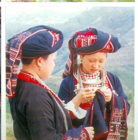 Sơn nữ Dao Đại Bản.