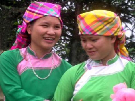 Trang phục nữ, dân tộc Giáy.