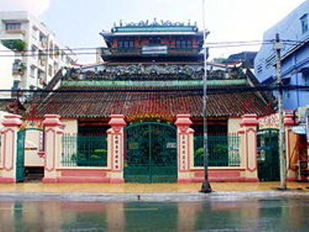 Đình Minh Hương Gia Thạnh, quận 5, Sài Gòn.