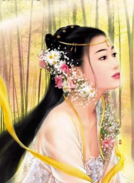 Hoa Nhị phu nhân 花蕊夫人.