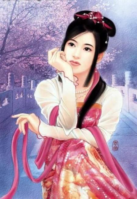 Lạc nhạn Vương Chiêu Quân 王昭君.