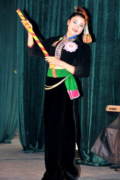 Trang phục dân tộc Kháng (Tuần Giáo).
