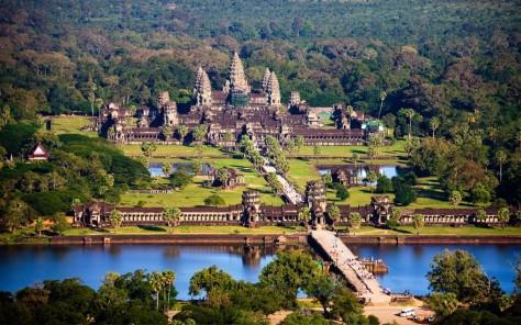 Angkor Wat của Đế chế Khmer.