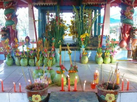 Lễ hội Thắk Kôông của người Khmer.