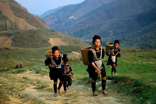 Người La Chí ở Lào Cai.