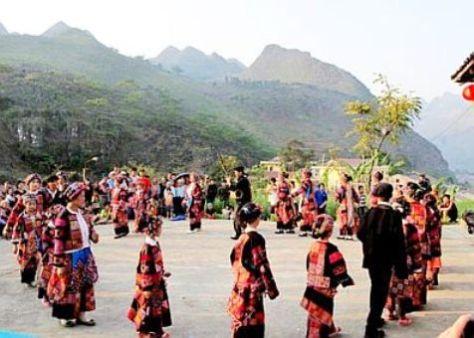 Lễ hội Cầu mưa của dân tộc Lô Lô thường được tổ chức vào tháng 3 âm lịch hàng năm.