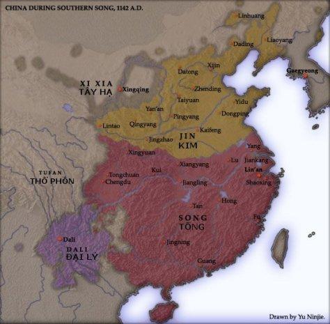 Nước Đại Lý năm 1142.