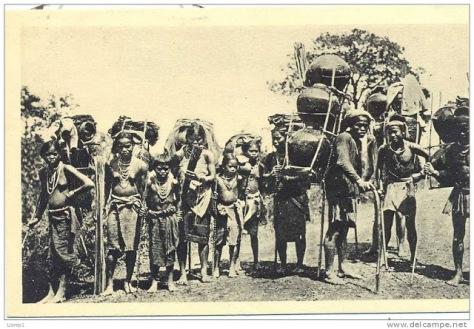 Dân tộc Ma thời Pháp thuộc.