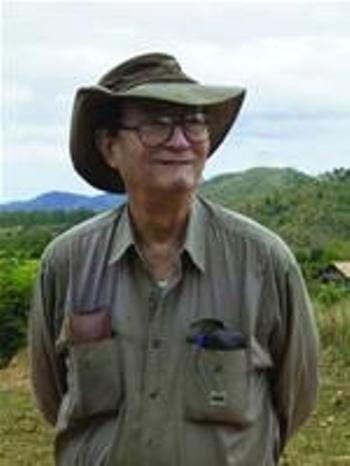 Georges Condominas ở Tây Nguyên năm 2006.
