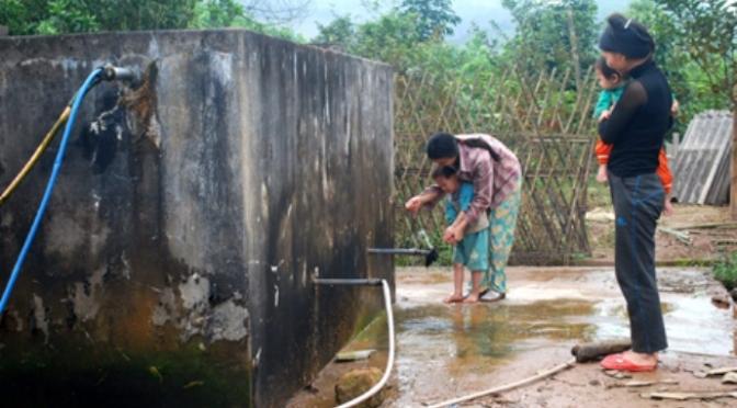 Xây bể chứa nước