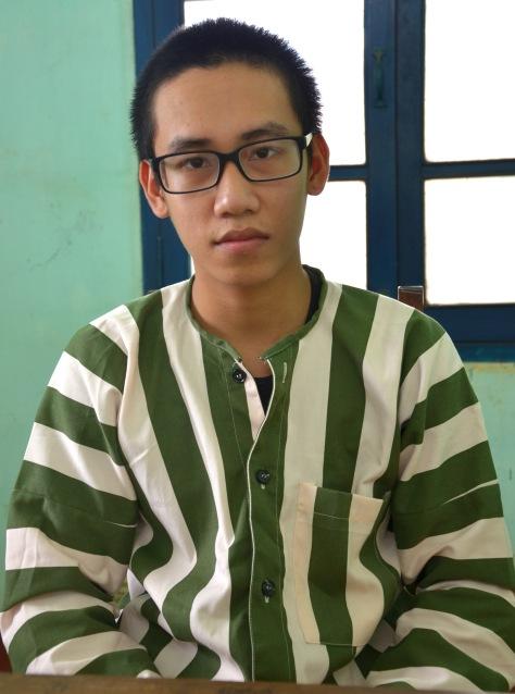 Em Đỗ Quang Thiện tại trại giam