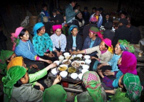 Lễ cúng họ của người Mông là một nét văn hóa truyền thống đặc sắc mang tính gắn kết cộng đồng, dòng họ.