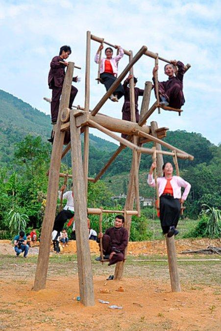Hội Đu Xuân - một nét đẹp trong đời sống văn hóa của người Mường.