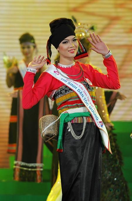 Sơn nữ Mường trong một cuộc thi Hoa Hậu Dân Tộc.