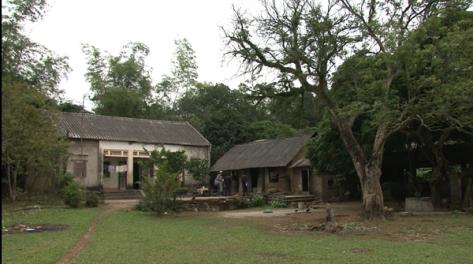 Một ngôi nhà của người Ngái ở thôn Tam Thái.