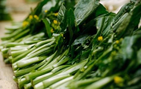 Rau xanh - món ăn không thể thiếu trong bữa cơm hàng ngày của người Ngái.