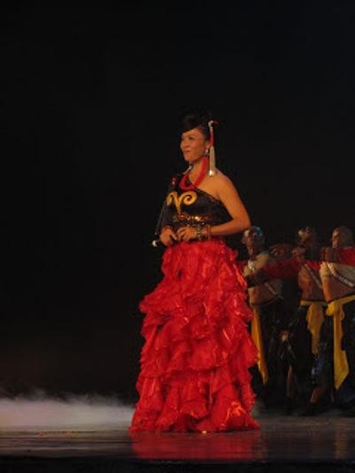 pl_Bộ ảnh tộc Yi trình diễn văn hóa dân nhạc truyền thống Lễ hội Torch Festival năm 2013-14