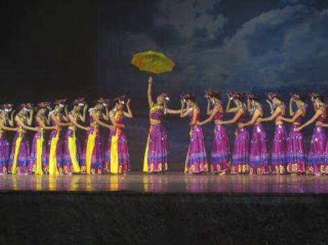 pl_Bộ ảnh tộc Yi trình diễn văn hóa dân nhạc truyền thống Lễ hội Torch Festival năm 2013-15