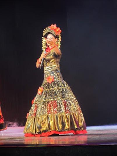 pl_Bộ ảnh tộc Yi trình diễn văn hóa dân nhạc truyền thống Lễ hội Torch Festival năm 2013-8