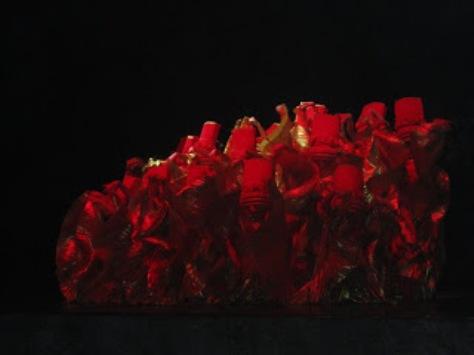 pl_Bộ ảnh tộc Yi trình diễn văn hóa dân nhạc truyền thống Lễ hội Torch Festival năm 2013-9