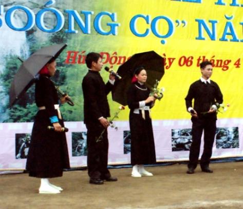 Hội Soóng cọ của người Sán Chay được tổ chức vào ngày 16/3 (Âm lịch) hàng năm.