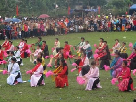 Đây là một trong sáu điệu nhảy của Dậm Thuông.