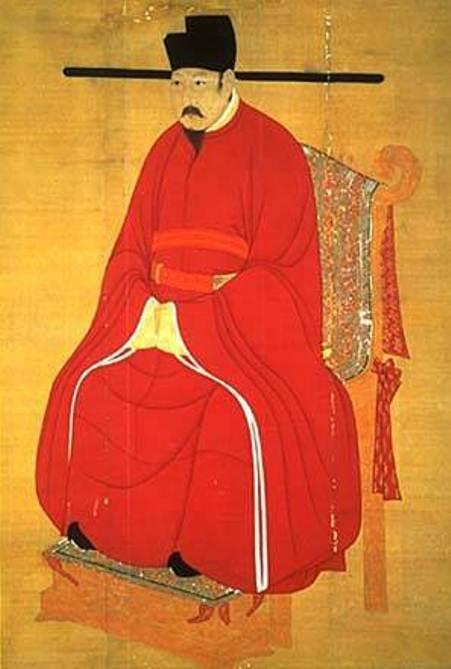 Ảnh vẽ Vua Tống Nhân Tông (Renzong).