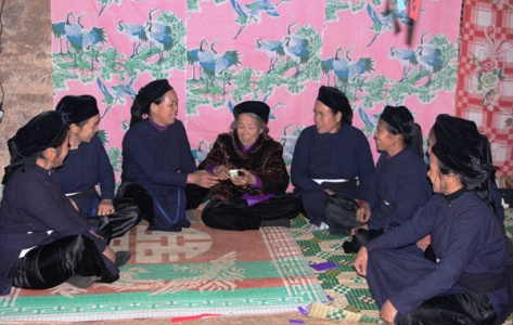Lễ mừng thọ của người Tày ở Cao Bằng.