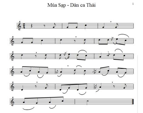 NS Nguyễn Đình Nghĩa ký âm.