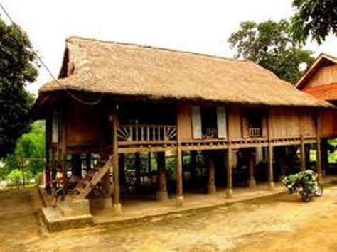Ngôi nhà sàn - nét văn hóa đặc sắc của dân tộcThái.