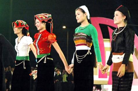 Trang phục truyền thống của dân tộc Thái.