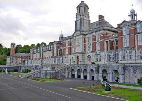 Britannia Royal Navy College Dartmouth.