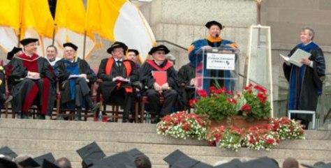 GS Charles Nguyễn Cường khai mạc một ngày lễ của Catholic University of America - Washington D.C.