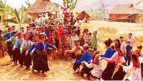 Lễ hội Cầu Mùa tộc Xinh Mun.