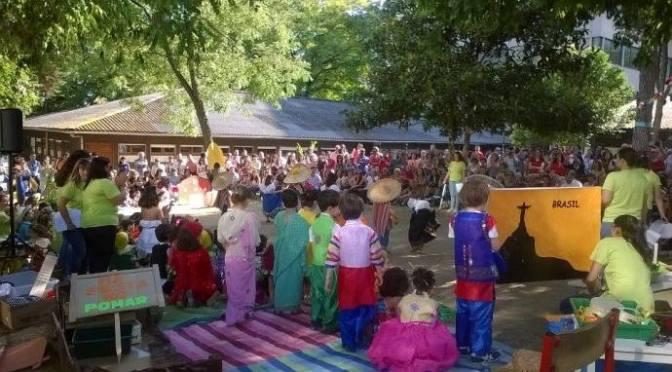 Ngày văn hóa quốc tế ở Vườn trẻ