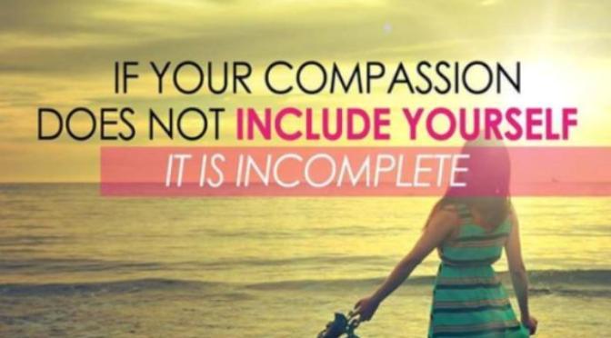 Từ bi với bản thân – Self-compassion