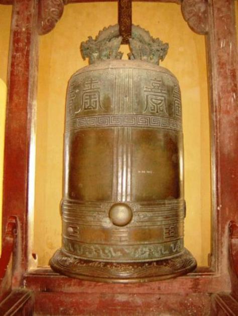 Đại Hồng Chung chùa Thiên Mụ (Huế).