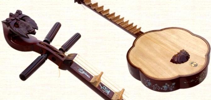 Nhạc cụ cổ truyền VN – Đàn Sến/Đàn Mai Hoa