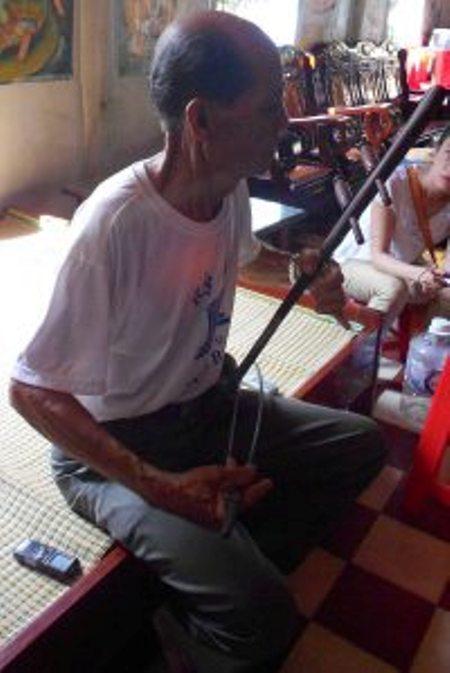 Đàn Truô Sô tại chùa Dơi – Sóc Trăng.