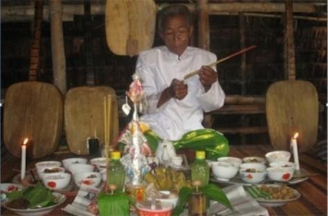 Nghệ thuật Chầm Riêng Chà Pây của người Khmer.