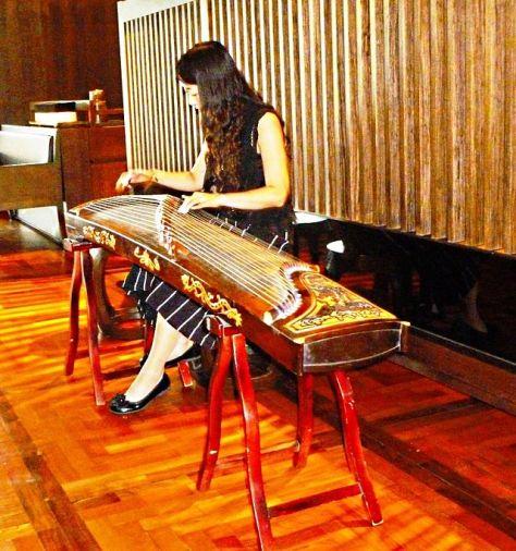 Đàn Guzheng của người Đài Loan.