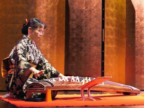 Đàn Koto của người Nhật.