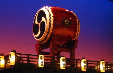 Trống Taiko của Nhật.