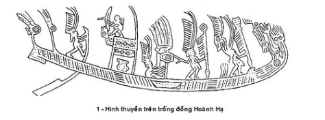 trongdong_Hình thuyền trên Trống Đồng Hoành Hạ
