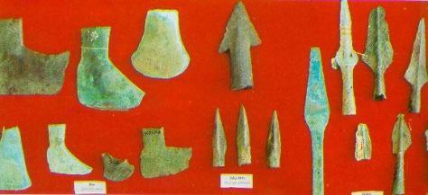 Hậu kỳ đồ đồng: giai đoạn Gò Mun, cách ngày nay khoảng trên dưới 3000 năm.