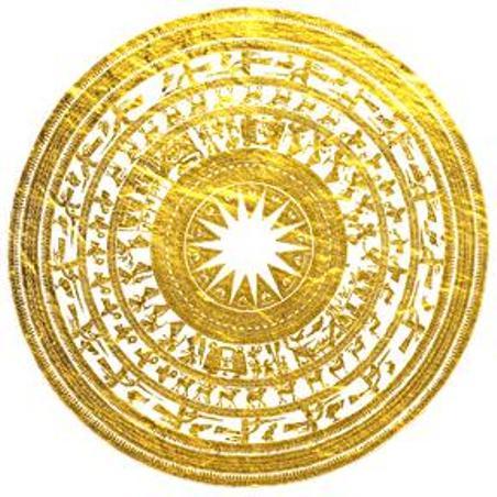 Mặt Trống Đồng Ngọc Lũ.